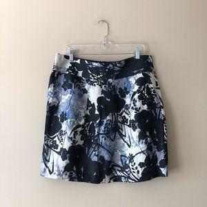 Ann Taylor printed skirt